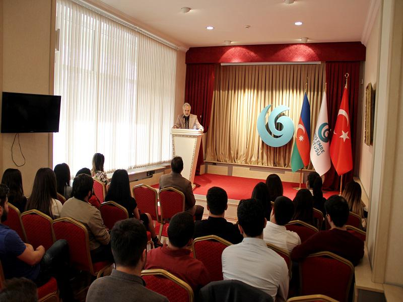 Knowledge Foundation's interns were the guests of the Baku Yunus Emre Institute