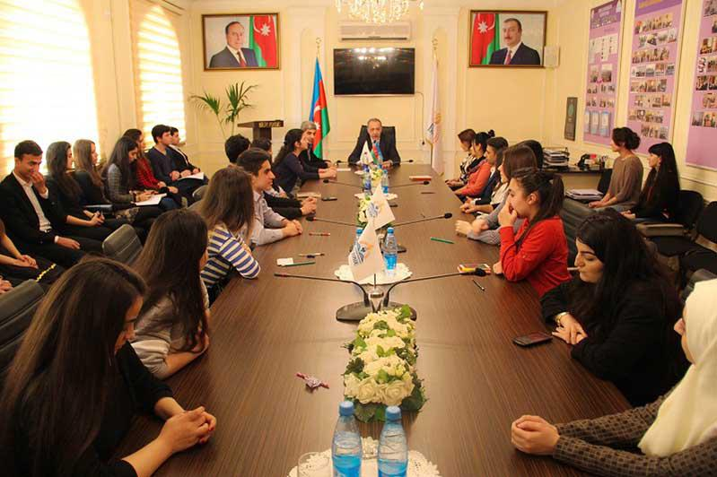 The Member of Parliament met with volunteers of Knowledge Foundation