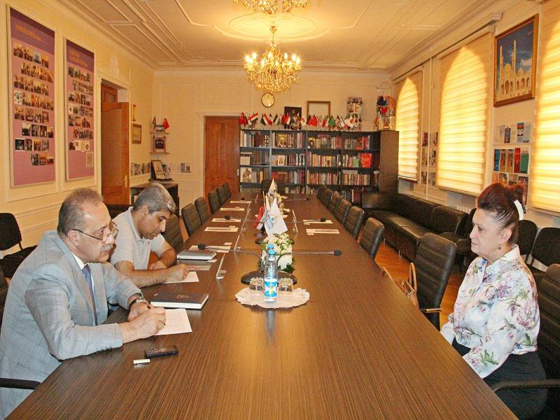 Representatives of the Surakhani district in the Knowledge Foundation