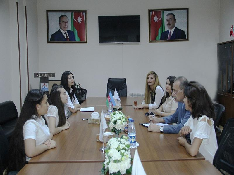 Shamkir Knowledge House association members in Baku (VİDEO, AZTV)