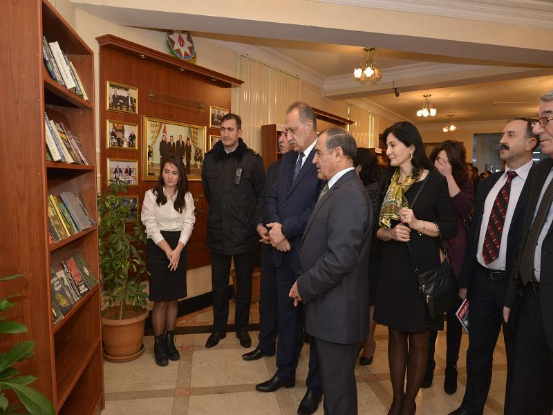 "An exhibition-conference on ""The books donated to Azerbaijan National Library from the National Leader's personal library"""
