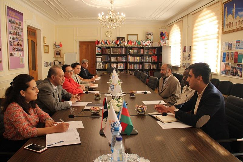 Charge d'affaires of the Sudan in Azerbaijan - in the Knowledge Foundation
