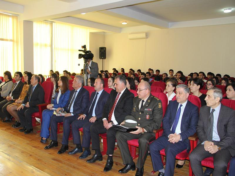 Ceremony of respect for the memory of the April martyrs was held at the Azerbaijan University