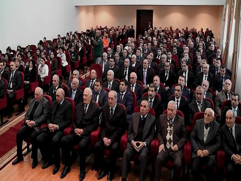 "The conference on ""Multiculturalism in folk art"" in Gusar (Video, İTV)"