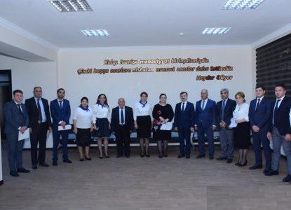 The Knowledge Foundation awarded the teachers of the college