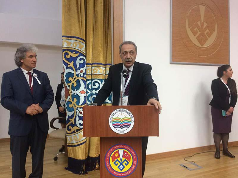 The Executive Director of the Knowledge Foundation at the 4th traditional congress of the Caucasus Universities Association