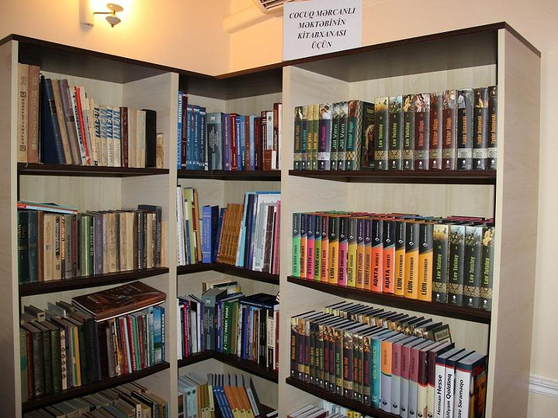 The Knowledge Foundation will provide the library of school Jojug Merdzhanly with books
