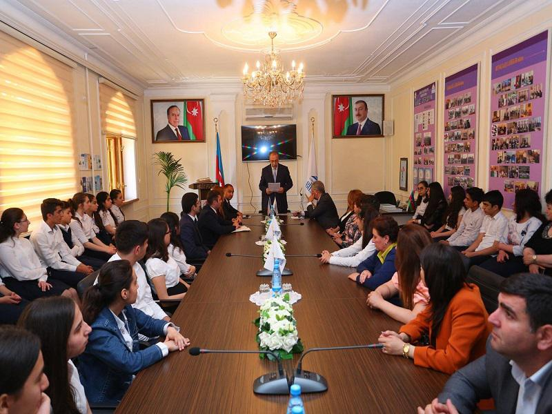 "The winners of the essay contest on the theme ""Dastan of a great life"" were awarded"