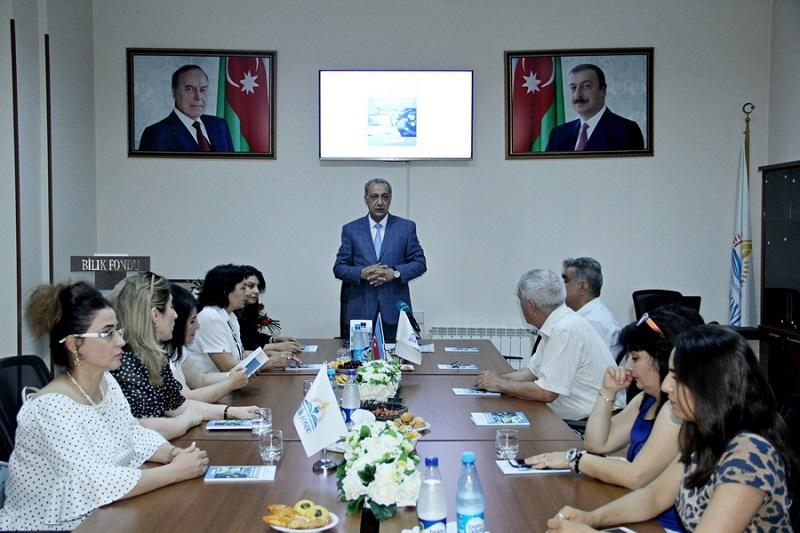 """The presentation of the collection of articles """"Norms of the literary language on the screen and on the air"""" was held at the Knowledge Foundation"""
