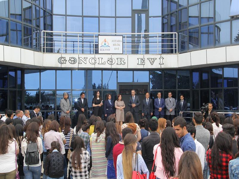 House of Knowledge opened in Astara (FOTO, VİDEO, AZTV)
