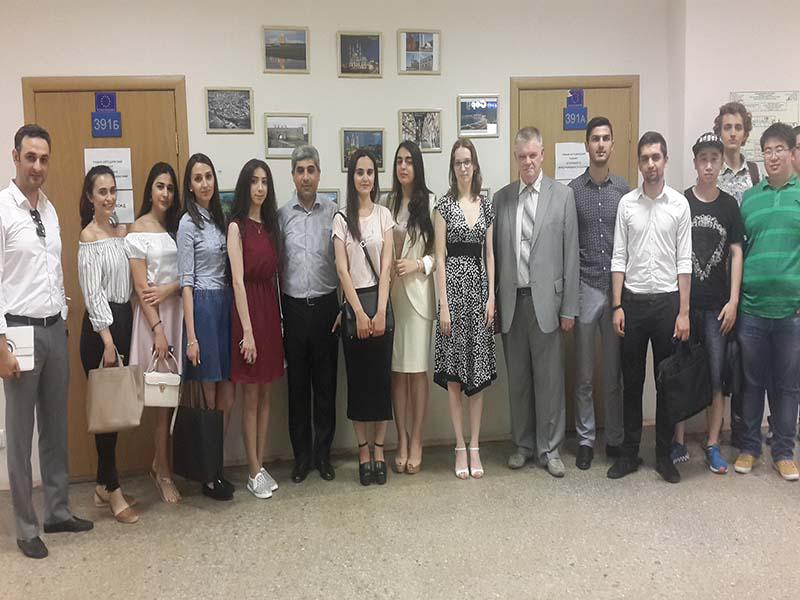 """Azerbaijan corner"" was set up at the Ural Federal University"