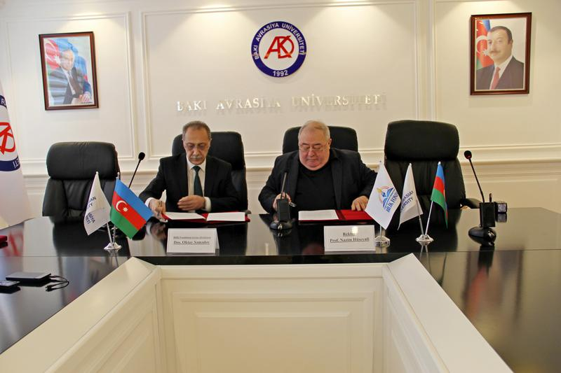 Memorandum of Understanding was signed between Knowledge Foundation and Baku Eurasian University