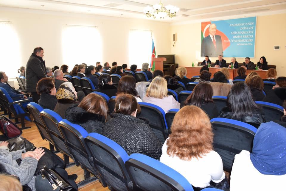 "Presentation of the book ""Transnational Armenian terrorism of the XX century. Historical and criminological research"" in Naftalan city"