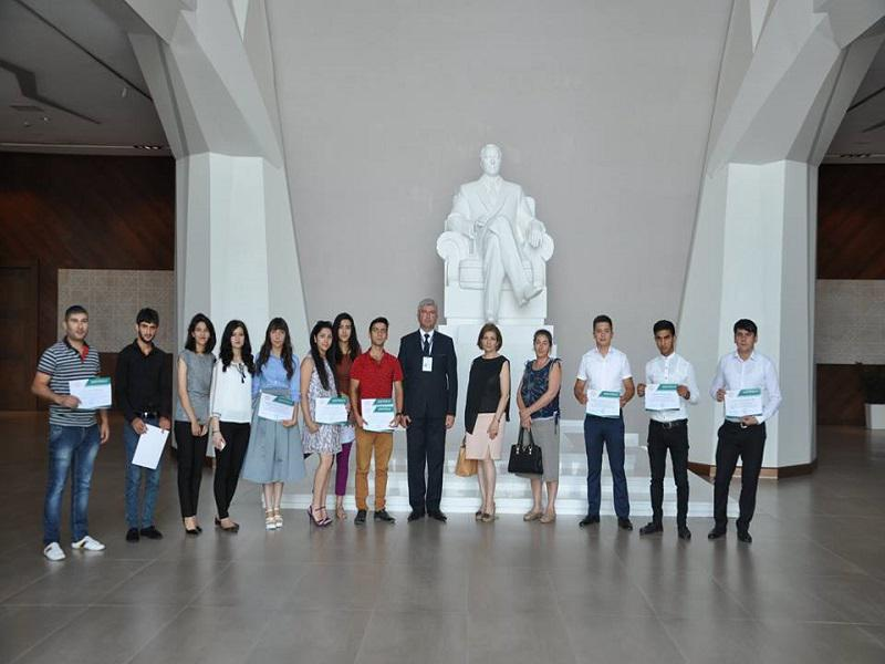 Foreign language courses ended with a lecture in the Shamkir House of Knowledge
