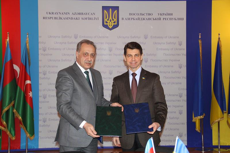 Memorandum was signed between the Knowledge Foundation and the Ukrainian Embassy in Azerbaijan