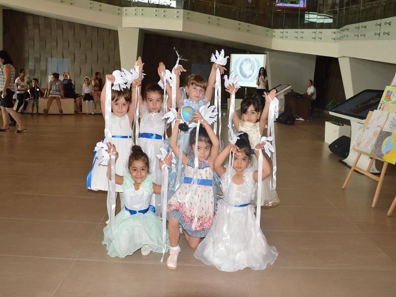 The International Day of Peace was marked in the Shamkir House of Knowledge