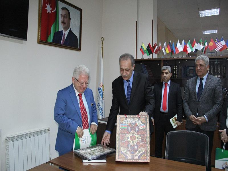 The Greek Ambassador visited the Knowledge Foundation