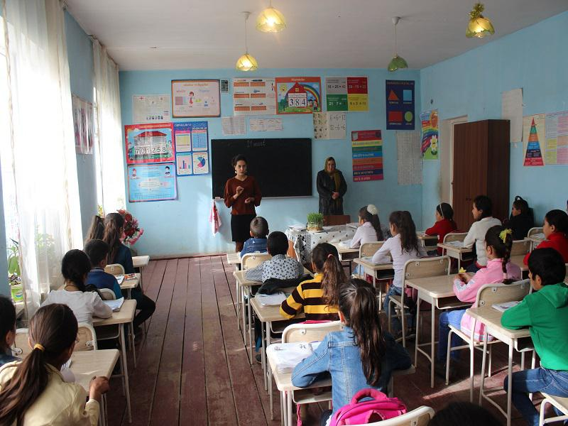 Lecture dedicated to the Republic- in the Georgian school