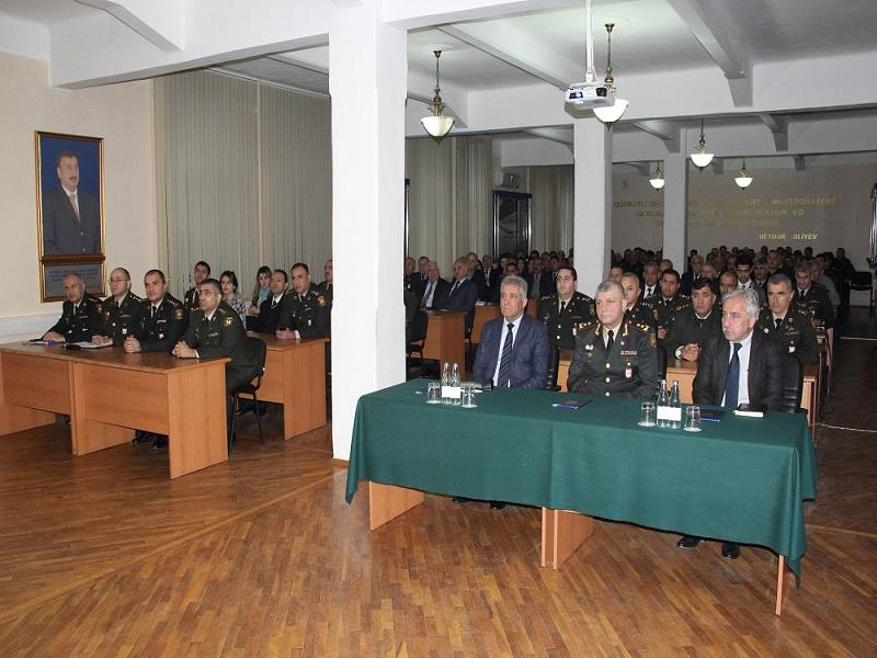 """The Military Academy hosted an event on the theme """"From National Revival to Strong Statehood"""""""