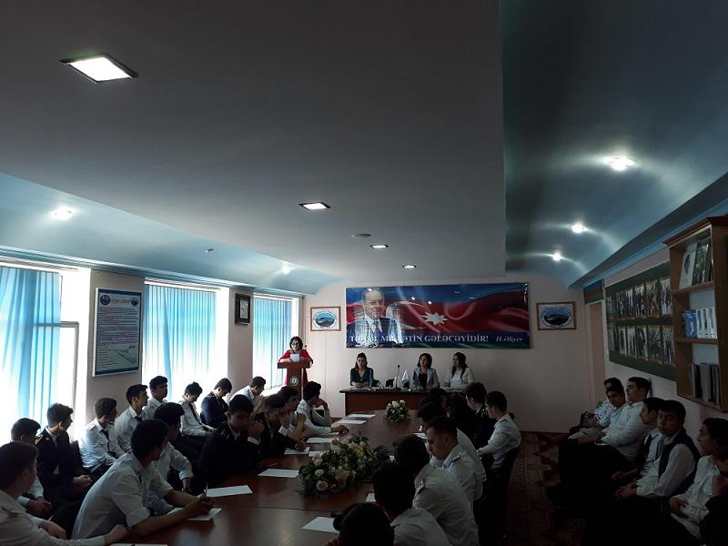 """Lecture from Knowledge Foundation- """"Literature Representatives of the Azerbaijan People's Government"""