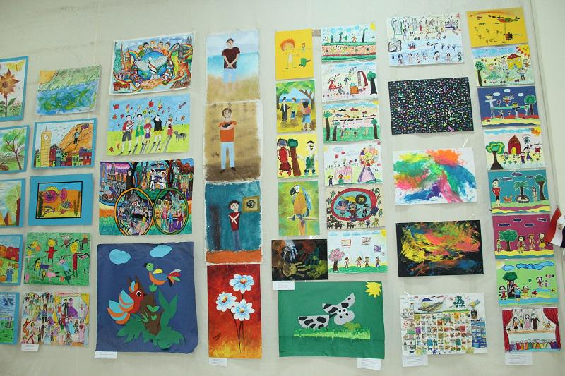 """The fifth international festival of painting creativity festival """"Pure colors"""" was opened in Baku"""