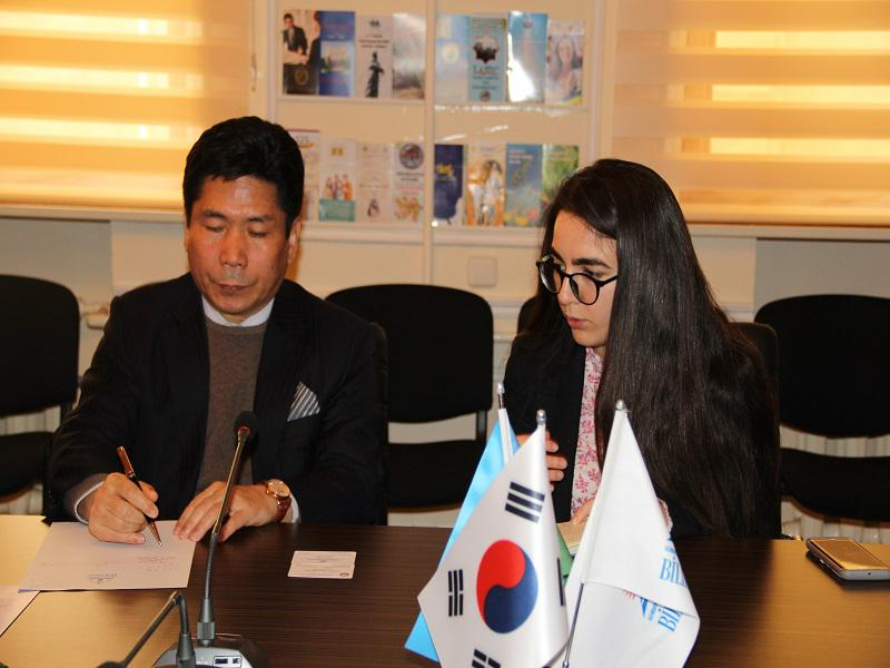 The cooperation between the Knowledge Foundation and the Embassy of South Korea in Azerbaijan is growing
